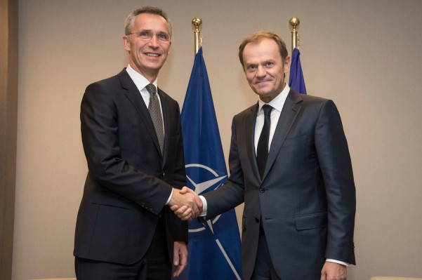 NATO Secretary General meets the President of the European Council