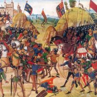 Infantry Tactics at the Battle of Crecy, 26 August 1346