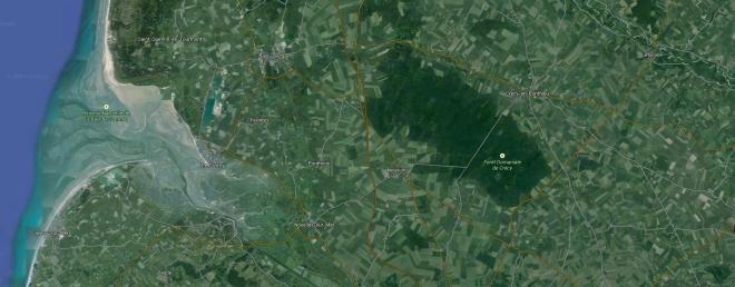 crecy, google maps
