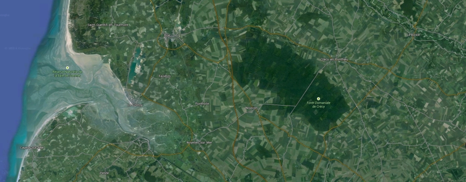 crecy, google maps