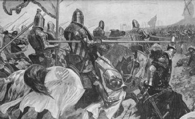 militaria-cavalry-v-archers.-battle-of-crecy.-1894-wdjb--135735-p[ekm]400x243[ekm]