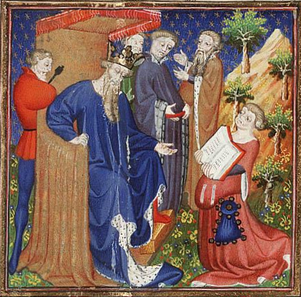 Raoul_de_Presles_presents_his_translation_to_Charles_V_of_France